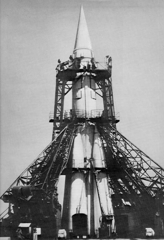 The Semyorka which launched Sputnik