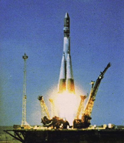The Semyorka which sent Gagarine into space